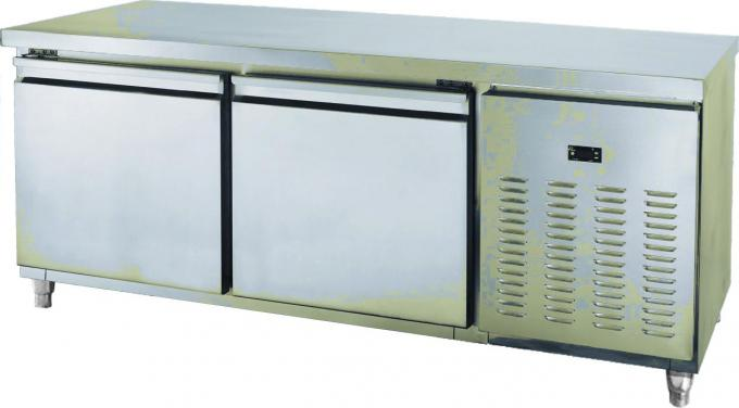 Stainless Steel Fridge Under Counter 1800 * 800 * 1000mm Durable