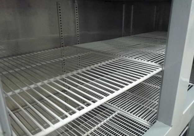 Hotel / Kitchen Commercial Upright Freezer With Air Cooling