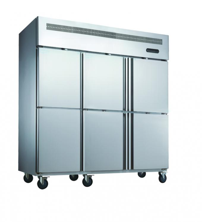 Energy Efficiency Silver Commercial Upright Freezer -18 Degree