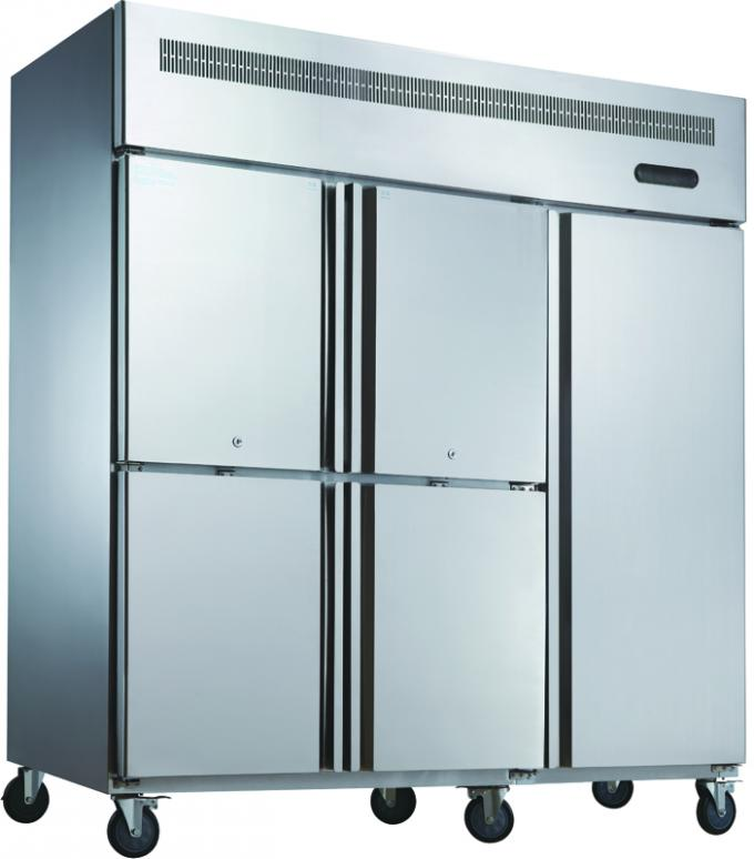 0 ~ 10°C - 18°C~ -20°C Commercial Upright Refrigerator One Layer Shelf Inside