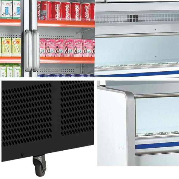 1600w Commercial Display Energy Efficiency Cooler