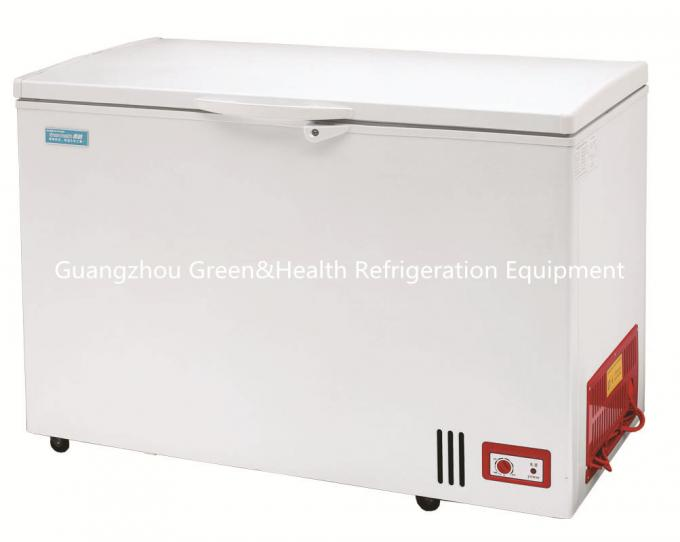 Stainless Steel Chest Deep Freezer Folding Double Door For