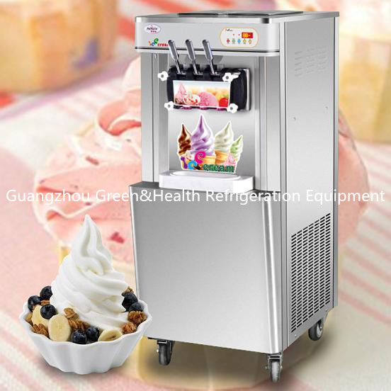 Low Noise Industrial Ice Cream Maker Machine With LED Display Auto - Operationn