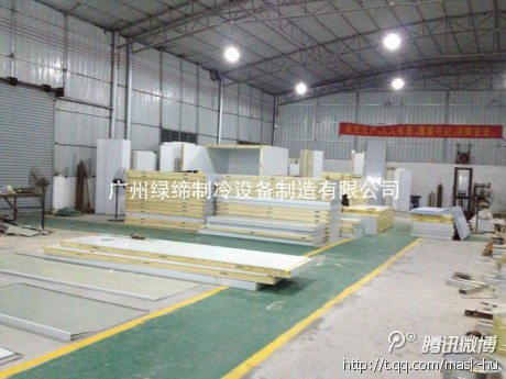 50 - 200mm Thickness Pu Sandwich Panel Cold Storage Chamber Flame Resistance