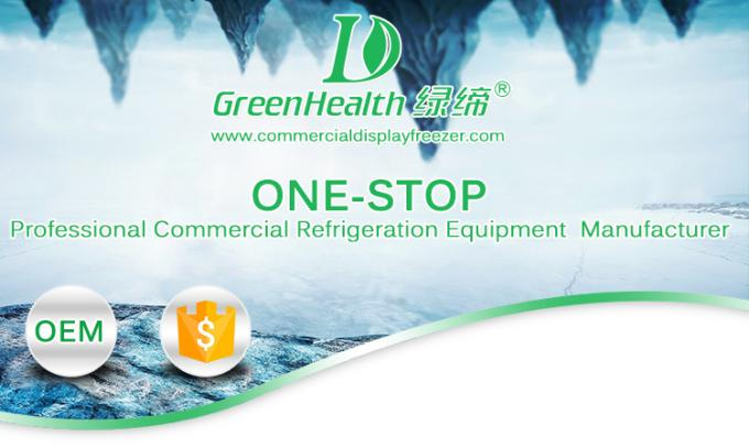 Remote System Multideck Open Chiller  / Beverage Refrigerator Showcase