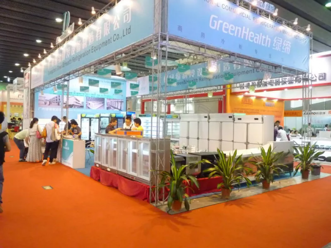 Supermarket Commercial Multideck Flake Ice Machine Single Temperature Type