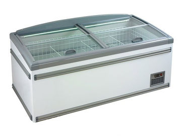 China 1.85m Free Defrost Supermarket Display Freezer For Meat Storage 1 Year Warranty supplier