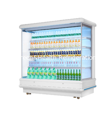 China R22 Refrigerator Multideck Open Chiller With Customized Size / Vegetable Display Fridge supplier
