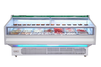 China 800L Horizontal Fish Meat Open Display Freezer For Butchery Shop supplier