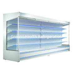 China Fan Cooling Remote System Multideck Open Display Chiller For Supermarket supplier