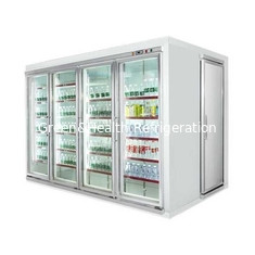 China Rapid Cooling Cold Storage Room For Frozen Food With Adjustable Temperature supplier