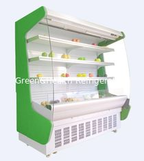 China Energy - Saving Multideck Open Display Showcase For Hypermarket With Wheels supplier