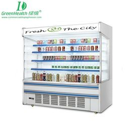 China Streamline Multideck Refrigerated Display Cabinets / Fruit And Veg Display Fridge supplier