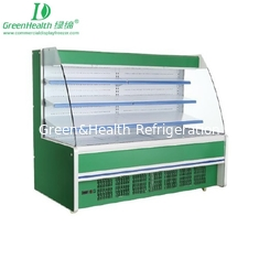 China Stainless Steel Edge Multideck Open Chiller With Panasonic / Copeland Compressor supplier