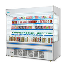 China Vertical Open Front Multideck Display Refrigerator Single Temperature With CE supplier