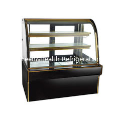Double Arc Commercial Cake Display Freezer With Casters Convenient To Move