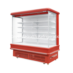 China Air Cooler Type Multideck Open Chiller For Beverage Vegetable / Commercial Display Refrigerator supplier