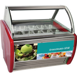 China Supermarket Small Ice Cream Display Freezer With Environmental Protection supplier