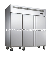 China Energy Efficiency Silver Commercial Upright Freezer -18 Degree supplier