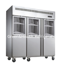 China Hotel / Kitchen Commercial Upright Freezer With Air Cooling supplier