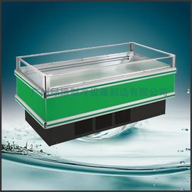 China R22 / R404a Supermarket Open Top Island Freezer / Single Island 1500 * 1080 * 950 supplier
