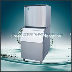China Silver / Black R404a Ice Cube Making Machine With Self Cleaning System supplier