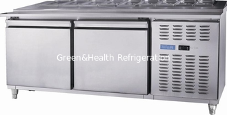 China Stainless Steel Fridge Under Counter 1800 * 800 * 1000mm Durable supplier