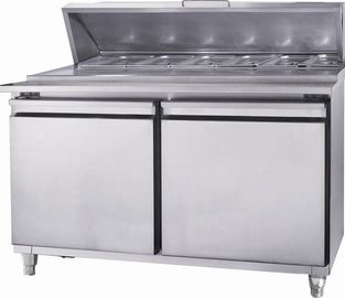 China Static Under Worktop Freezer 1.5m With Adjusted Loading Leg supplier
