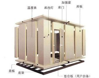 Large Integration Cold Storage Room 2.5m Automatic For Hotel / Market