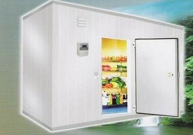 China Cold Room Storage 105 Cubic Meter 6m * 7m * 2.5m With Valley Wheel Compressor supplier
