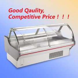 China Shop Open Display Cooler R22 / R404a , Wheels Deli Display Refrigerator With T5 Light supplier