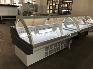 China Supermarket Meat Deli Display Refrigerator / Countertop Refrigerated Display Case supplier