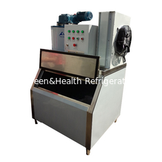 China 60Hz Fast Speed 2 Ton Flake Ice Maker Water Cooling Stable Operation supplier