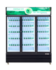 China 0 - 10℃  -18 ~ -22℃ Commercial Beverage Cooler With Thermostat Control System supplier