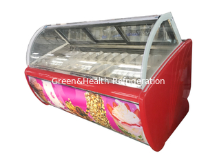 China 3 Glass Slide Door Ice Cream Chest Display Freezer  Ambient Tem -45°C ~45°C supplier