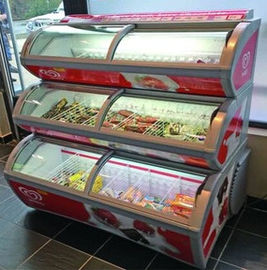 China Quiet 900W 110V  Ice Cream Display Freezer Intelligent Microcomputer Temp - Control supplier