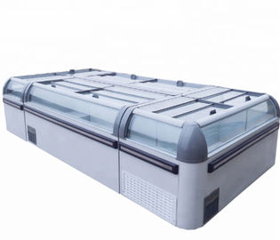 1000L Open Top Meat And Fish Deep Display Freezer For Supermarket