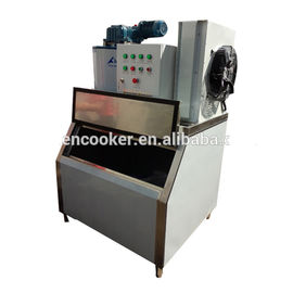 China Supermarket Commercial Multideck Flake Ice Machine Single Temperature Type supplier