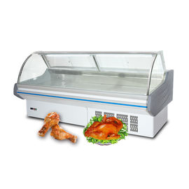 OEM Vertical Meat Refrigeration Deli Display Refrigerator Energy Efficient