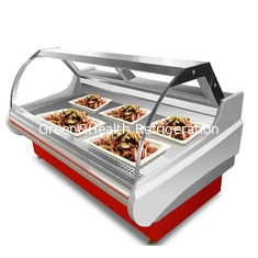 Restaurant Deli Display Case Thick Insulation Design  Air Duct Structure