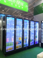 China 60Hz Modern Commercial Display Refrigerator / Wine And Beer Fridge supplier