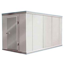 CE Rosh Walk In Freezer PU Sandwich Cold Room Cooling For Seafood / Vegetables