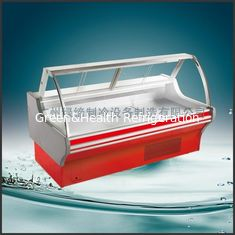 China Deli Counter Display Panasonic Compressor , Deli Refrigeration Equipment For Food Grocery supplier