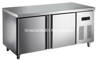 China 2 Or 3 Doors Chicken Under Counter Fridge With Stainless Steel Cooper Tube supplier