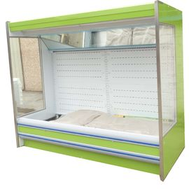 China Different Color Dynamic Fan / Evaporator Open Multideck Freezer supplier