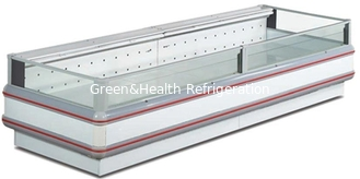 -18~-22℃ Big Capacity Ombined Supermarket Island Freezer / Meat Display Refrigeratorr