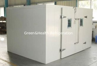 China 50mm Panel Thickness Cold Storage Room With Split Type Condensering Unit For Frozen Food supplier