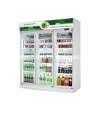 China Commercial Drinks Fridge Soft Drinks Display Fridge / Refrigerator Showcase supplier