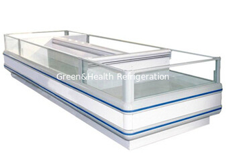 China Customize Supermarket  Island Freezer For Frozen Food Top Open Freezer supplier
