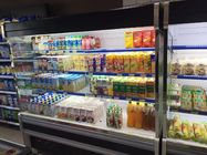 Commercial Multideck Open Chiller Supermarket Showcase With Glass Door